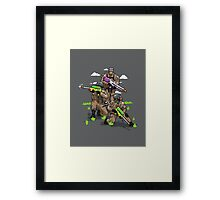 Soak Squad Six Framed Print