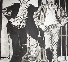 Butch and Sundance by Colin  Laing