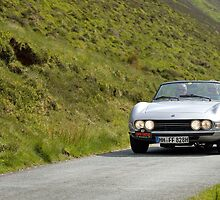 The Three Castles Welsh Trial 2014 - Fiat Dino Spider by Three-Castles
