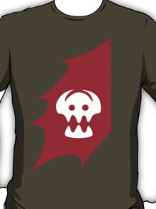 HTTYD Toothless's Tail&Hiccups Skull logo T-Shirt
