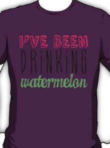 Drinking Watermelon T-Shirt