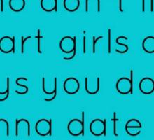 The Venn Diagram of Boys... Sticker