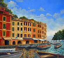 Portofino Bay Walk by Joanne Morris
