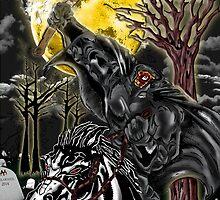 Sleepy Hollow- Headless Horseman by American Artist