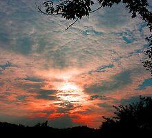 """East TN June Sunset"" by Robert Regenold"