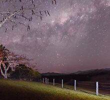 Milky Way, nr Murwillumbah, NSW by Ann Pinnock
