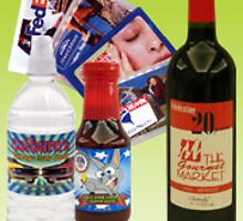 Colour label printing sells your special products by quicklabl