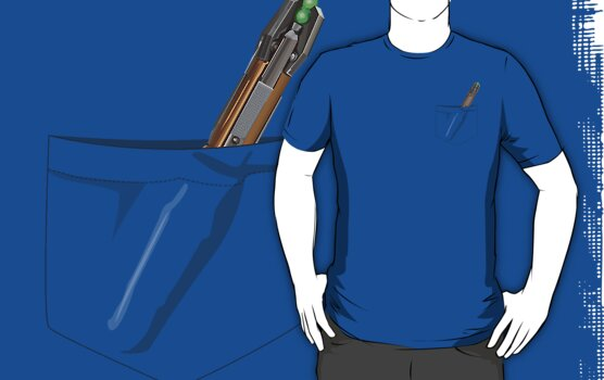 Doctor Who- Pocket Sonic Screwdriver (11th) by mersanto
