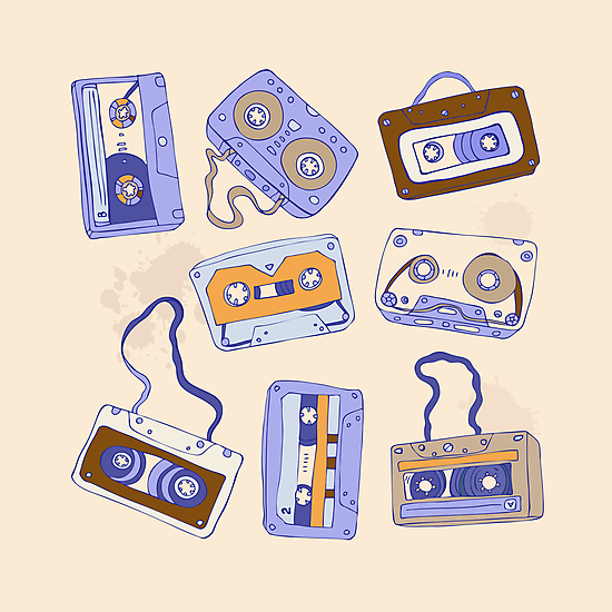 Audio cassette by Katyau