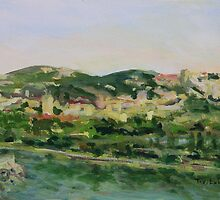 Across the Way Villeneuve lez Avignon France  by TerrillWelch