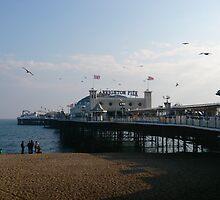 Brighton Pier by ElinaMic