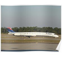 McDonnell Douglas MD-88 Poster