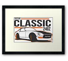 DATSUN NISSAN 240Z Framed Print