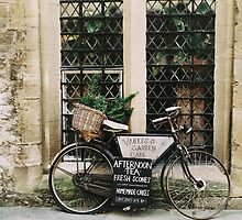 Vintage Bicycle by Indea Vanmerllin