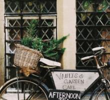Vintage Bicycle Sticker