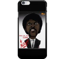 Pulp Fiction - Samuel L Jackson - Jules - Caricature iPhone Case/Skin