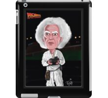 Doc Brown - Back To The Future - Caricature iPad Case/Skin