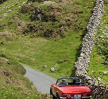 The Three Castles Welsh Trial 2014 - Fiat 124 Spider by Three-Castles