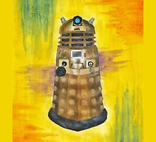 Rainbow Dalek  by Zoe  Conroy