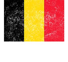 Distressed Belgium Flag by kwg2200
