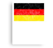 Distressed Germany Flag Canvas Print