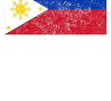 Distressed Philippines Flag by kwg2200
