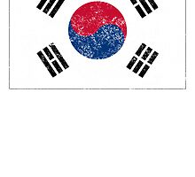 Distressed South Korea Flag by kwg2200