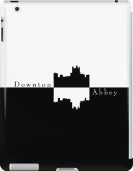 Downton Abbey Castle Silhouette by sonicsandwands