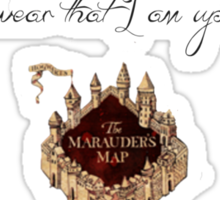 Harry Potter Marauder's Map Sticker