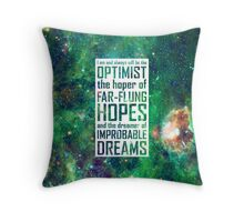 Dreamer of Improbable Dreams Throw Pillow