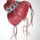 Rose Bun by ArtByJamie