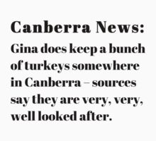 Gina's Canberra Turkeys by Heatherian