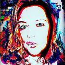 double exposure pop art selfie (by request)  by ShellyKay
