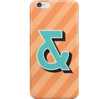 Ampersand + iPhone Case/Skin