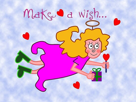 Make a wish by Maria  Gonzalez