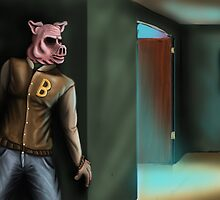 Hotline Miami: Knock Knock by Chris Savely