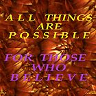 ALL THING ARE POSSIBLE by Lorraine Wright