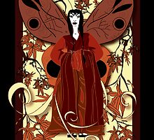Madame Butterfly 1 by Robyn Scafone