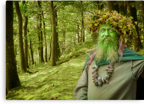 Green Man Of The Woods by Patricia Jacobs CPAGB LRPS BPE3