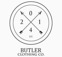 Butler Clothing Co. Est. Design by Aaron Butler