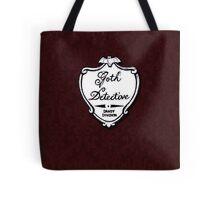Goth Detective Badge Tote Bag