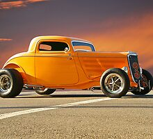 1933 Ford HiBoy Coupe by DaveKoontz