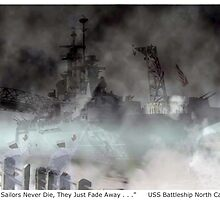Ghost Ship USS North Carolina by CindyLynnArt