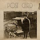 Post card - Vintage child by © Kira Bodensted
