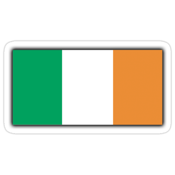 IRISH FLAG; IRELAND PURE & SIMPLE by TOM HILL - Designer