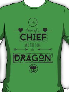 """How To Train Your Dragon 2 """"Heart of a Chief"""" T-Shirt"""