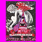 """""""An Evening with Ratdog Valentine's Day 20014 -PINK"""" by Kevin J Cooper"""