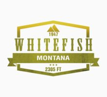 Whitefish Ski Resort Montana by CarbonClothing
