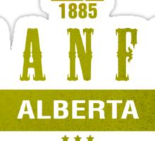 Banff Ski Resort Alberta Sticker