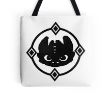 How To Train Your Dragon 2 Night Fury Tee Tote Bag